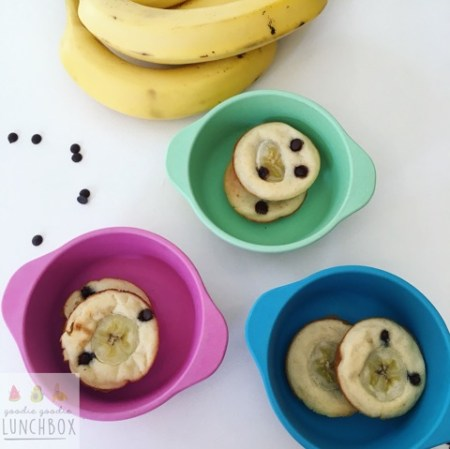 Fruit and Chocolate Puffins make a great snack or breakfast for kids.