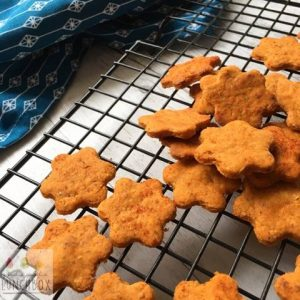 Healthier BBQ Shapes (BBQ Crackers) are delicious for school lunches