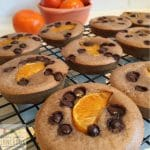 delicious chocolate orange puffins great for snacks or the lunchbox. They are quick to make and freeze well.