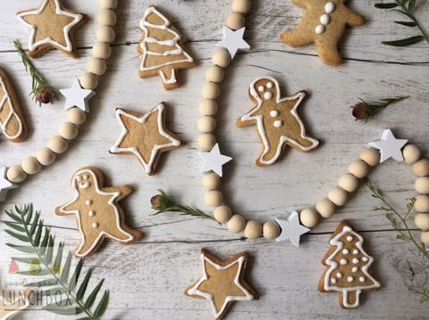 delicious refined sugar free festive spiced cookies