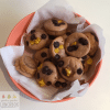 orange chocolate puffins (pancake muffins) a great breakfast, snack or lunchbox addition. Super easy to make with your kids.