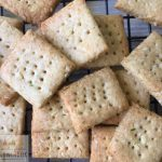 Egg and nut free allergy friendly sour cream and chives crackers