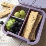 Seedy Wholemeal Crackers are a delicious dairy, egg and nut free cracker perfect for the lunchbox