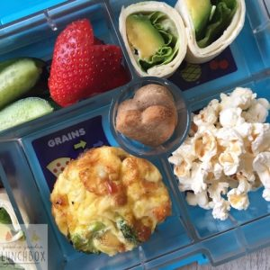 Delicious and nutritious Vegetable Muffin Tin Frittatas. Fantastic alternative to a sandwich in the lunchbox and delicious home lunch for your toddlers and preschoolers. A great way for how to get vegetables into the lunchbox.