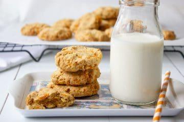 carrot oat cookies