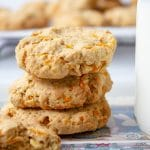 carrot oat cookies