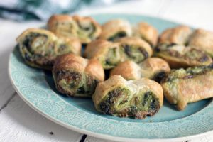 how to include vegetables in the lunchbox puff pastry palmiers