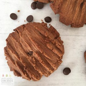 double chocolate peanut butter cookies deliciously crisp and totally moreish