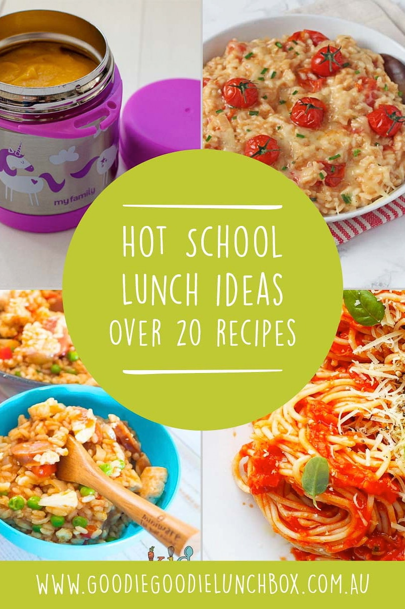 Warm those little bellies on the cooler month with this round up of over 20 recipes in this post dedicated to Hot School Lunch Ideas. From soup to rice, these recipes are perfect for insulated food jars and therefore perfect for school lunches. #hotschoollunch #schoollunches #hotlunch #foodjarrecipes #recipesforschool #schoollunchideas #ideasforschoollunches