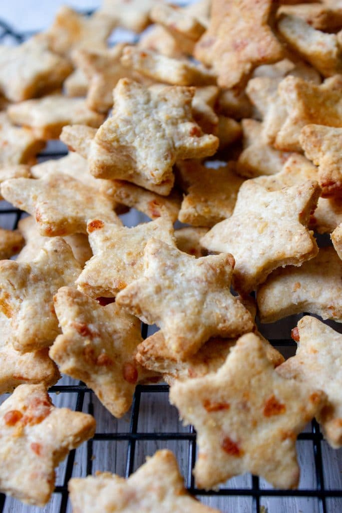 Easy Homemade Cheese Crackers are fantastic for lunchboxes, egg and nut free and super tasty.