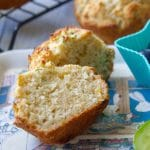 Banana zucchini muffins are a perfect nut free snack for school lunches..