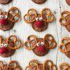 chocolate orange Rudolph Cookies