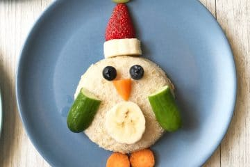 Christmas food art ideas - penguin