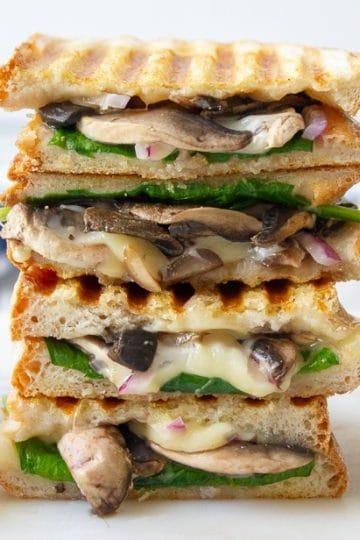 mushroom toasted sandwiches