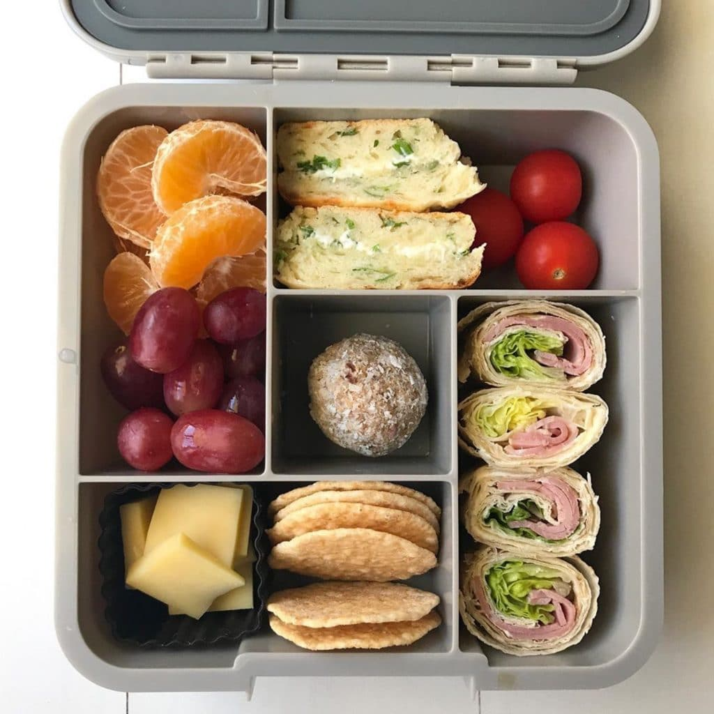 fruit in a lunchbox: The Best Food for Kid's Teeth in the Lunchbox