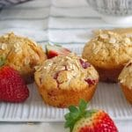 strawberry sour cream muffins