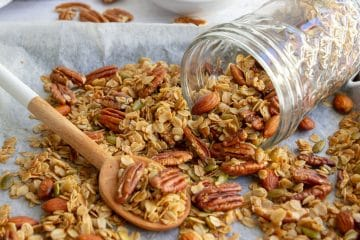 Honey Pecan Granola