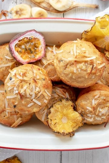 Delicious Tropical Muffins