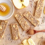 Apple Oat Bars