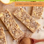 Apple Muesli Bars